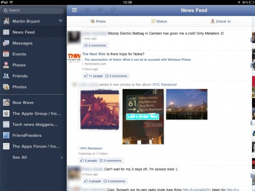Facebook for iPad has been feature complete since May, engineer tells us why he quit for Google