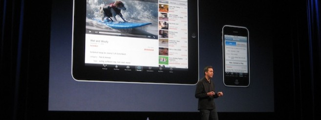 iPad on Stage