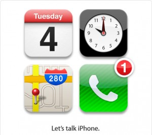 Apple officially confirms iPhone 5 event on October 4