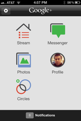 photo 1 1 Google+ for iOS gets big update adding Hangouts from your phone and more
