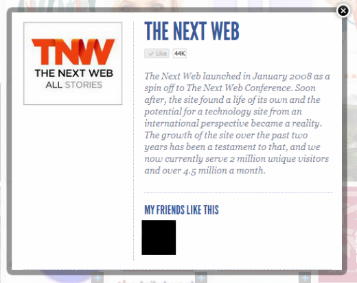 tnw ShowYouLikeIt: A slick way to display your Facebook likes