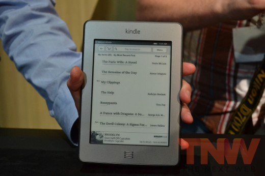 tnw16 520x346 Hands on with Amazons new Kindle e readers and Kindle Fire tablet [High Res Images]
