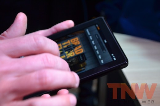 tnw18 520x346 Hands on with Amazons new Kindle e readers and Kindle Fire tablet [High Res Images]