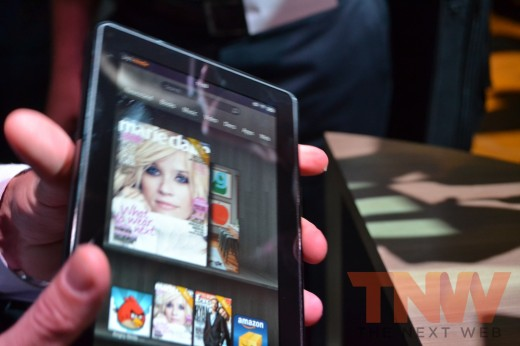 tnw20 520x346 Hands on with Amazons new Kindle e readers and Kindle Fire tablet [High Res Images]