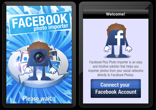 FB1 Facebook Photo Importer lets you transfer hundreds of photos in minutes