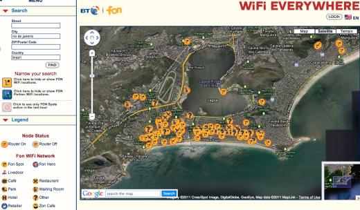 Fon 520x304 Fon expanding WiFi hotspots to Latin America, starting with Rio de Janeiro