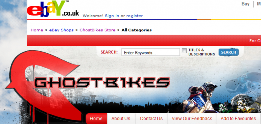 GhostBikes 520x249 Meet the million pound eBay businesses