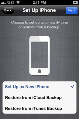 IMG 0004 TNWs Guide to iOS 5: iCloud and the PC free iOS experience