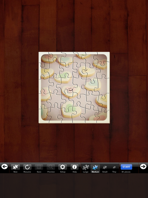 IMG 00691 520x693 Instapuzzle for iPad turns popular Instagram photos into a puzzle