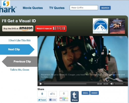 I ll Get a Visual ID Sound Clip and Quote 520x418 Hark is the easiest way to listen to your favorite movie quote clips