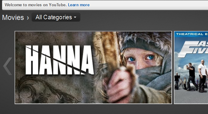 youtube launches its movie rental service in the uk the