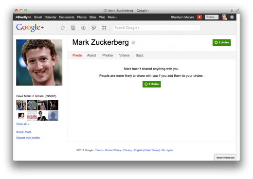 Screen Shot 2011 10 23 at 7.15.14 PM 520x368 Larry Page passes Mark Zuckerberg as most circled person on Google+