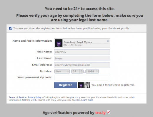 Screen shot 2011 10 28 at 10.33.47 AM 520x399 Tru.ly releases its free age verification API