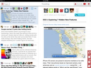 Smartr iPad 2 300x225 Dont be stupid   use Smartr for iPad to read the news