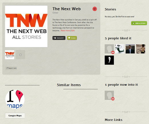 TNW2 CircleMe: A Social Network based on your Likes
