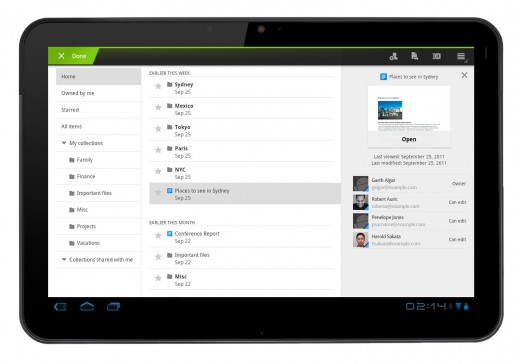 android tablet 1 520x364 Google Docs now looks better than ever on your Android tablet