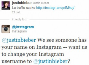 bieber instagram1 300x220  7 useful startup lessons learned at Webprendedor