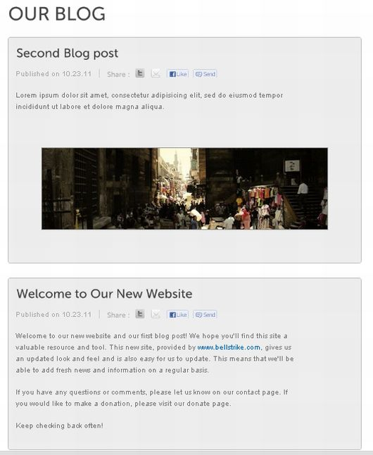 blog Non profits can create a professional site in minutes with Bellstrike