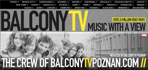 btv How BalconyTV has built a worldwide online media sensation on a passion for music and video