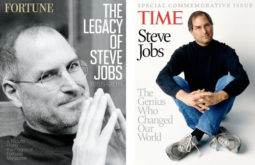 fortune and time steve jobs Fortune and TIME to release commemorative issues on Steve Jobs