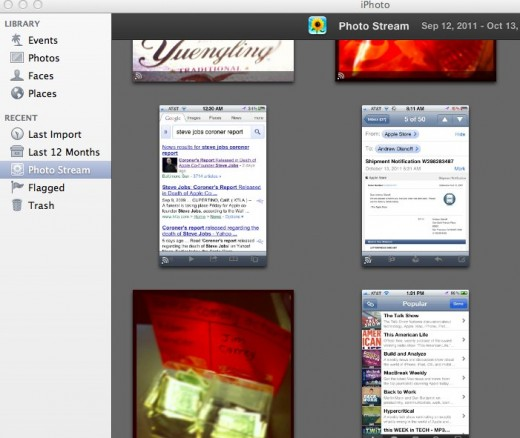 iPhoto 1 520x438 Embarrassing photos on your iCloud Photo Stream? Heres how to remove them
