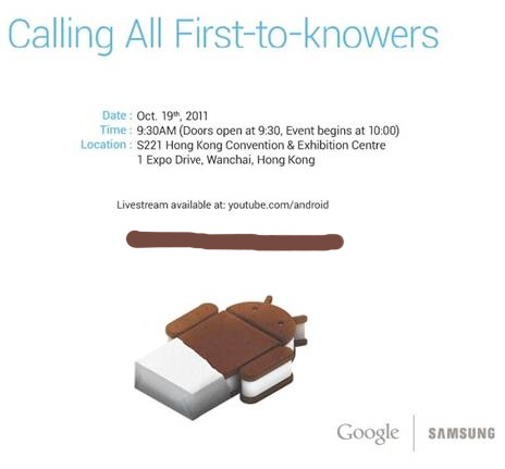 image001 fixed Samsung and Google unwrap Ice Cream Sandwich on October 19th...in Hong Kong