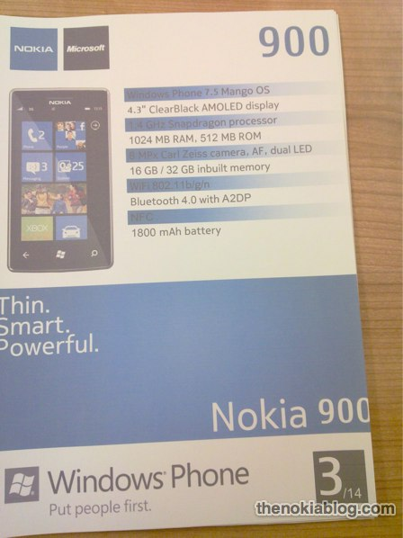 nokia 900 2 Could this be the new Nokia 900?