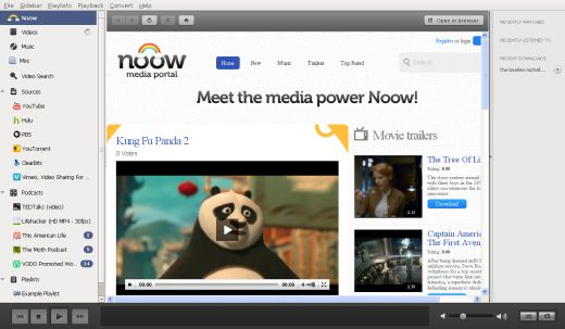 noow All in one Noow may become the last Windows media player youll ever need