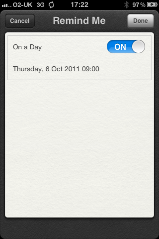 photo The iPhone 3GS wont get geo fencing in the Reminders app