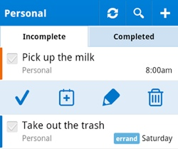 rtm2 To do app Remember The Milk gets big Android update, launches free option