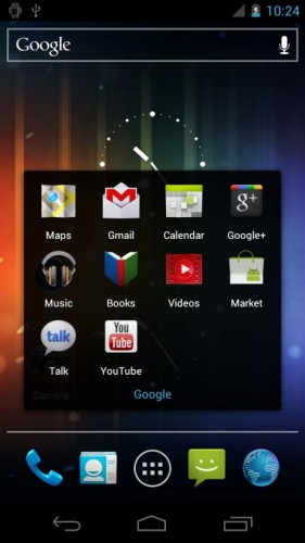Samsung Galaxy Nexus, Googles new Ice Cream Sandwich phone, leaks on video