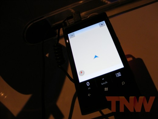 tnw56 520x390 Hands on with the Nokia Lumia 800 Windows Phone [Photos]