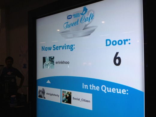 tweetcafe Twitter powered cafe lets you tweet for a treat