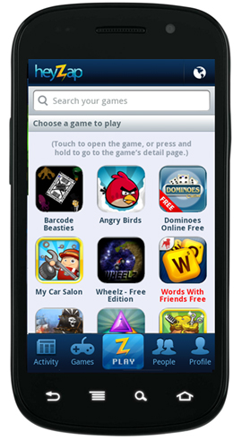 v3 Heyzap for Android gets a Play tab to make playing easier and faster