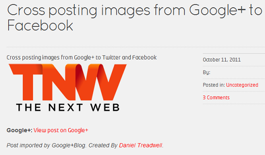 withimage Crosspost your Google+ posts to your WordPress blog with this plugin