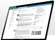 yammer The first email was sent 40 years ago this month