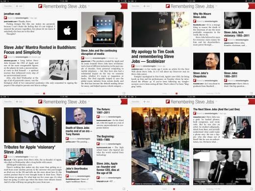 yeah1 520x390 FlipBoards Classy Tribute To Steve Jobs