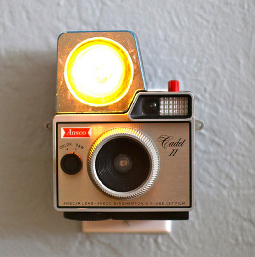 0011 Add some retro flavor to your space with these vintage camera nightlights