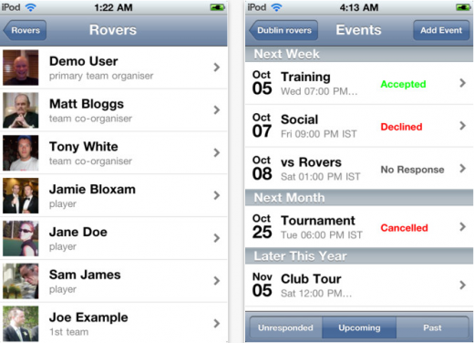 App Store Teamer 1322226925140 520x376 Teamers sports club management platform hits 1m users, and growing fast