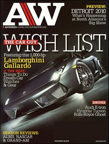 AutoWeek magazine December 28 2009 ShopAutoWeek   How a 53 year old magazine bootstrapped a car buying startup