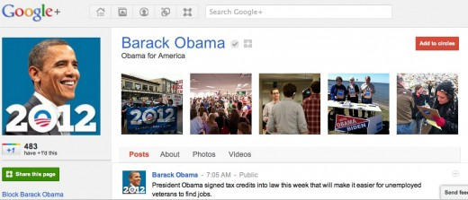 Convofy 37 520x223 The President just got plussed: Barack Obama joins Google+