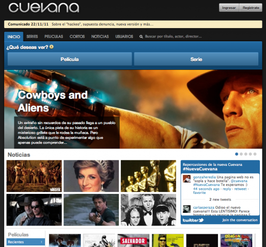 Cuevana 520x484 Is the Argentine online video website Cuevana the new Napster?