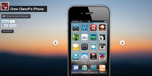 Drew Olanoff s iPhone Crosswa.lk  520x262 Crosswa.lk launches the app discovery network that beats Apples iTunes [invites]