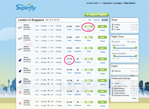 Flight Search Medium Marked 520x380 Superfly launches a more personal way to search for your next flight