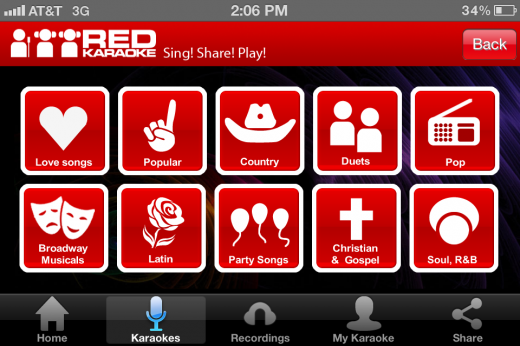 IMG 2357 520x346 Red Karaoke for iOS is like having American Idol in your pocket