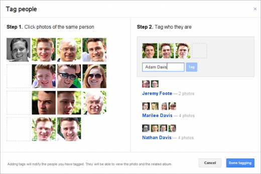 Tagging1 520x348 Tagging your friends in Google+ Photos just got a whole lot easier