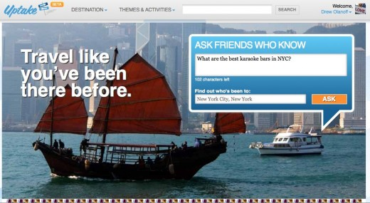 Uptake.com Your First Step to a Great Trip 520x285 Uptake helps you ask locals all of your travel questions