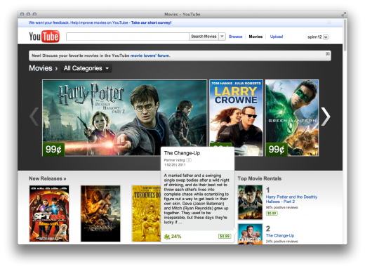 YouTube Movies 520x383 Disney movies are coming to YouTube
