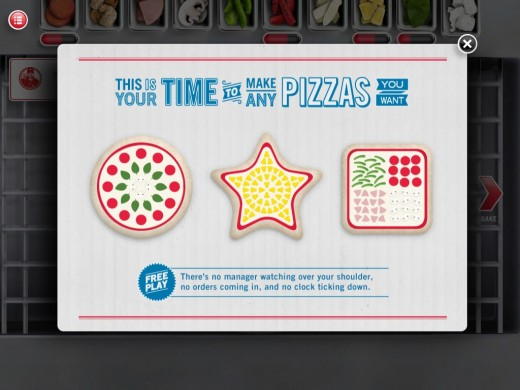 dominos pizza hero free play 520x390 Domino's Pizza Hero iPad game makes preparing pizzas fun