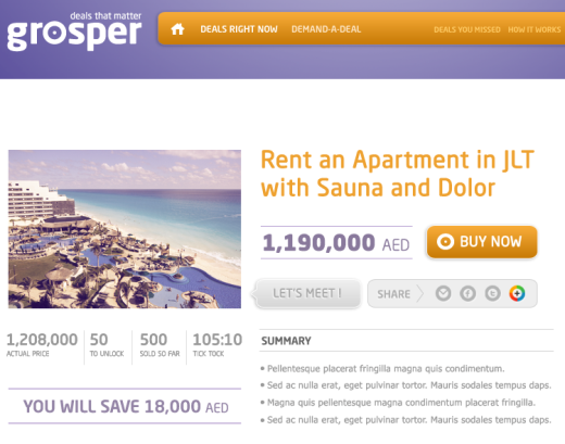 grosper Grosper Brings Group Buying to Dubais Real Estate Market